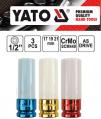 Sada nástrčných kľúčov na alu ráfky 3ks YATO ...