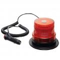 LED maják oranžový, 12-24V, R10/R65, magnet, ...