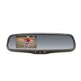 Spätné zrkadlo s LCD displejom a päticou na sklo, ...