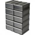 Box skladovací plastový (10ks) 225 x 155 x 100 mm