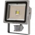 Reflektor - 30W COB LED / 2100lm / IP44 / Pohybový ...