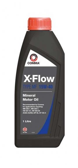 Comma X-FLOW MF 15W-40 MIN. 1L
