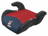 Dětský podsedák ANGUGU 15-36 kg, černo-červená