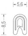Univerzálne tesnenia dverí č.12