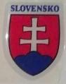 Nálepka SLOVENSKO  znak