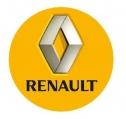 Nálepka na puklicu RENAULT (1ks) žltá