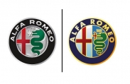 Nálepka na puklicu ALFA ROMEO (1ks)