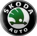 Nálepka na puklicu ŠKODA - staré logo čierny ...