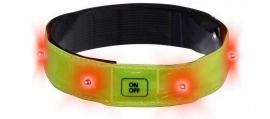 Reflexní pásek s LED diodami