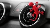 Audi vôňa Gecko červená